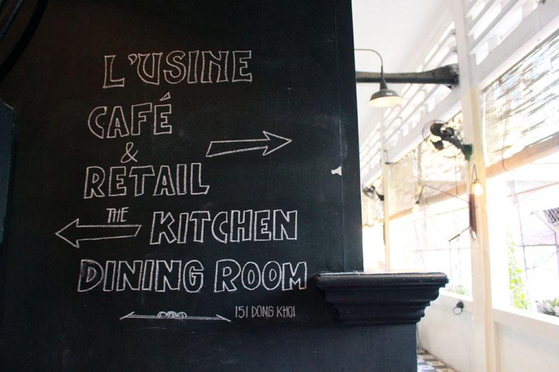 lu'sine cafe entrance ho chi minh city art gallery