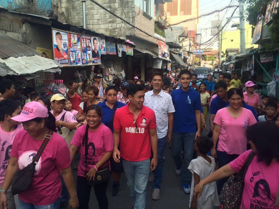 pambansang merienda vico sotto campaigns with vic sotto in pasig city councilor