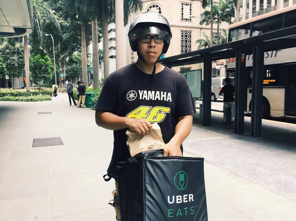 uber eats drivers