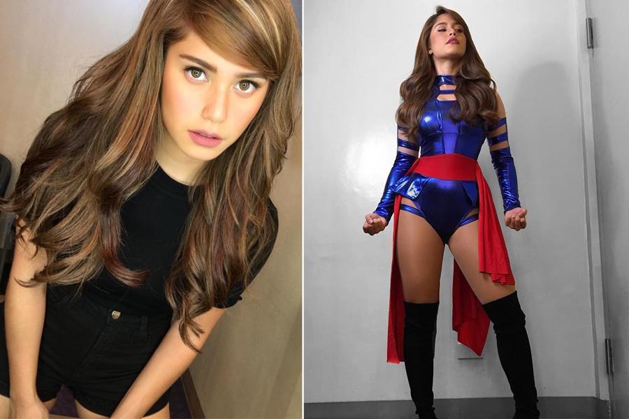 She can be Darna, Psylocke, Tanduay's Calendar Girl or McDonald's ...