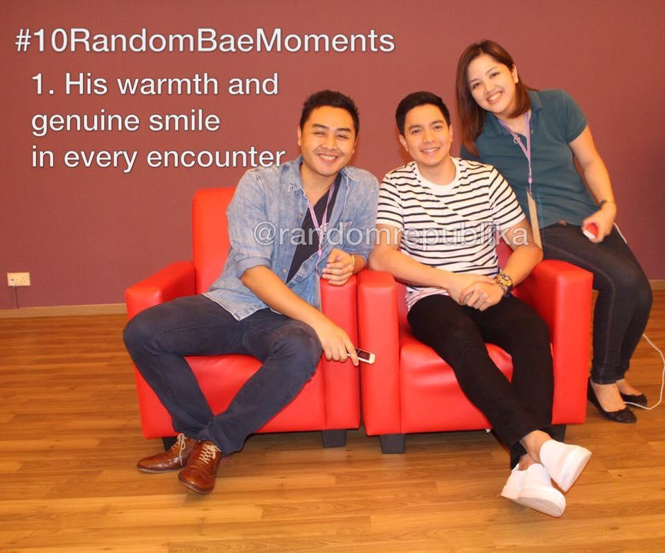 #10RandomBaeMoments with alden richards and random republika - #1