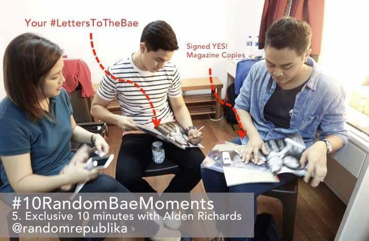 #10RandomBaeMoments with alden richards and random republika - #5