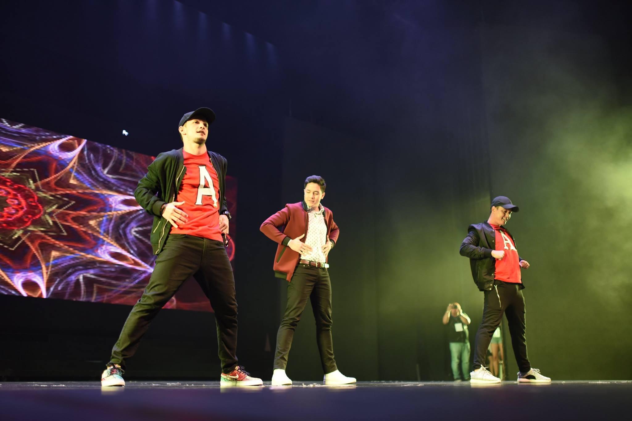 alden richards concert dance twerk it like miley