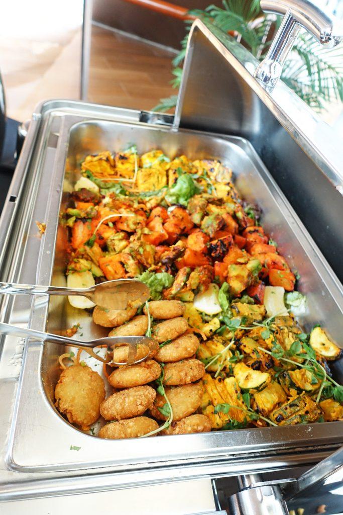 buffet food punjab grill indian restaurant marina bay sands chef bar lunch