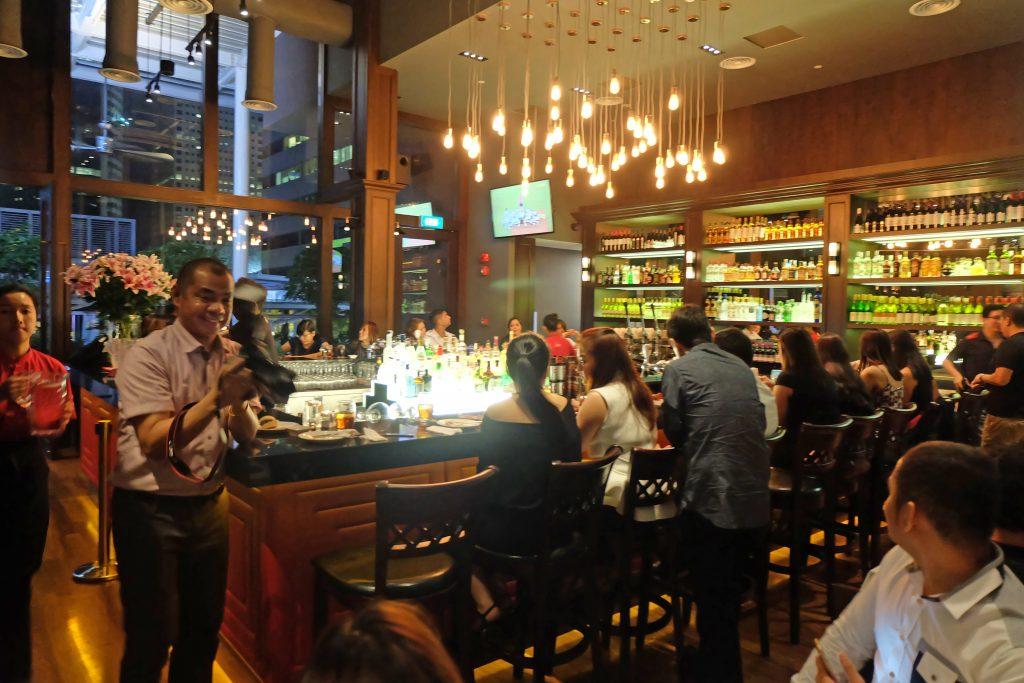 kimxi kim chiu and xian lim welcome dinner in singapore funtasy concert at suntec 2016 venue dallas bar suntec