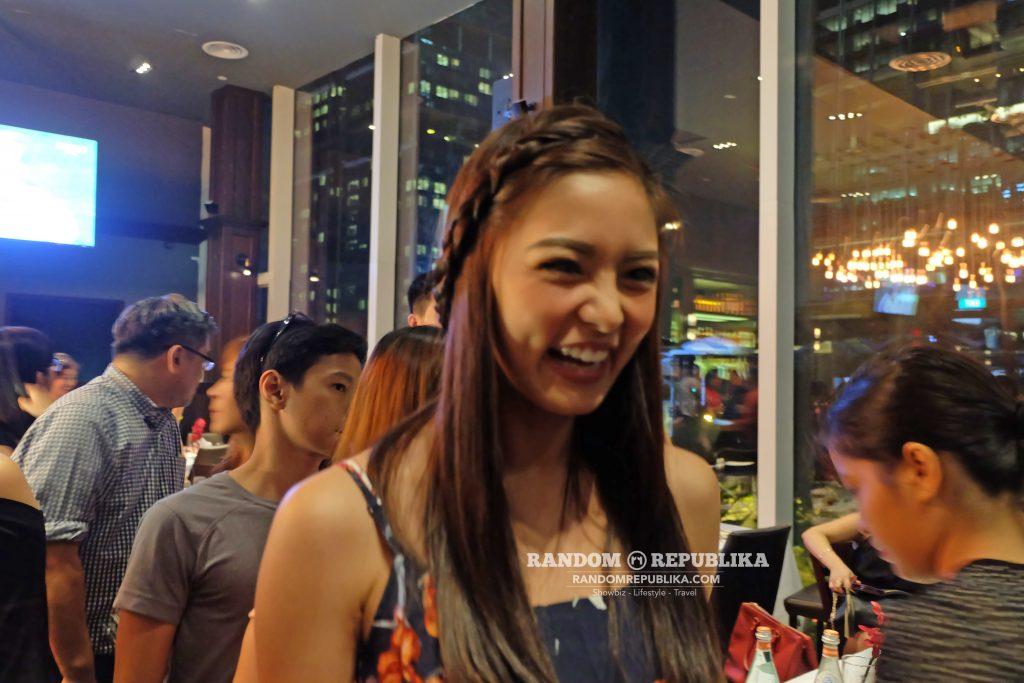 kimxi kim chiu smile and xian lim welcome dinner in singapore funtasy concert at suntec 2016
