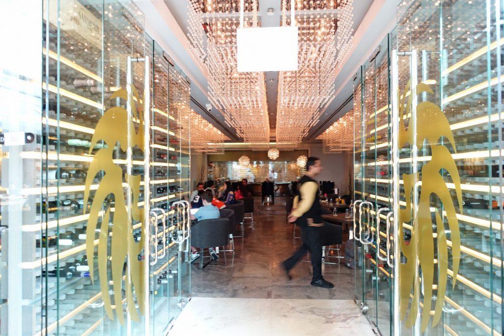punjab grill indian restaurant interiors marina bay sands chef bar lunch