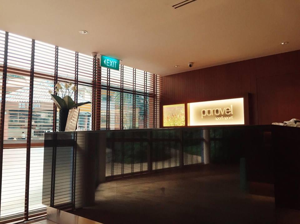 purovel spa swissotel merchant court singapore clark quay massage lobby