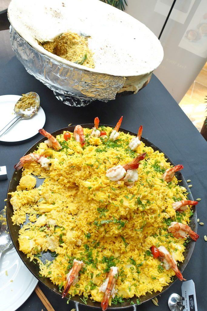 rice at punjab grill indian restaurant marina bay sands chef bar lunch