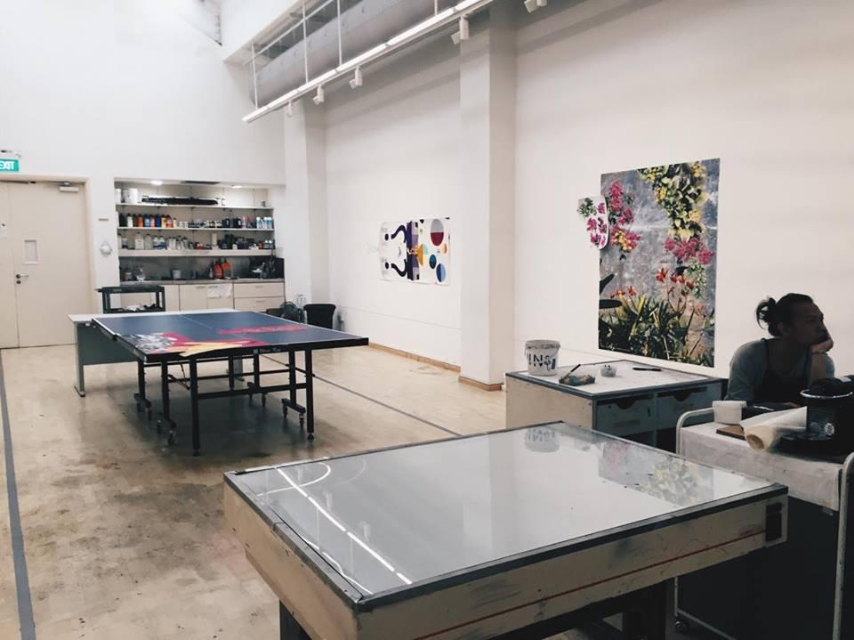 stpi gallery exhibit singapore artist center