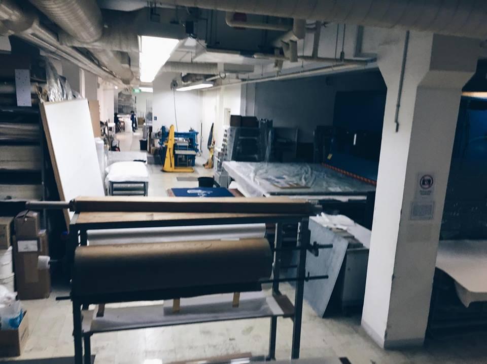 stpi gallery exhibit singapore workshop machines