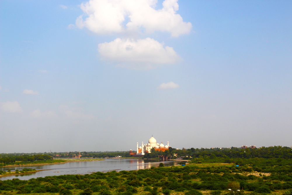 view-of-taj-mahal-palace-from-agra-fort-in-india