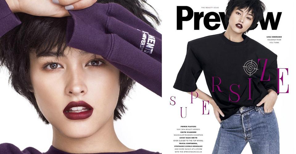 Watch Liza Soberano Transforms In Preview Magazine S
