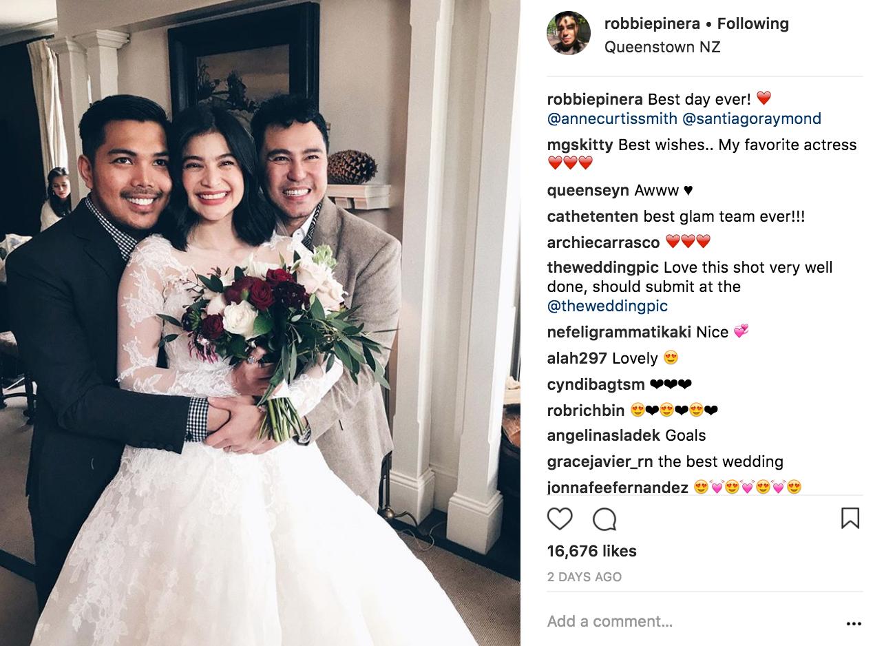 Anne S Wedding: IN PHOTOS: Anne Curtis In Custom-Made Monique Lhuillier
