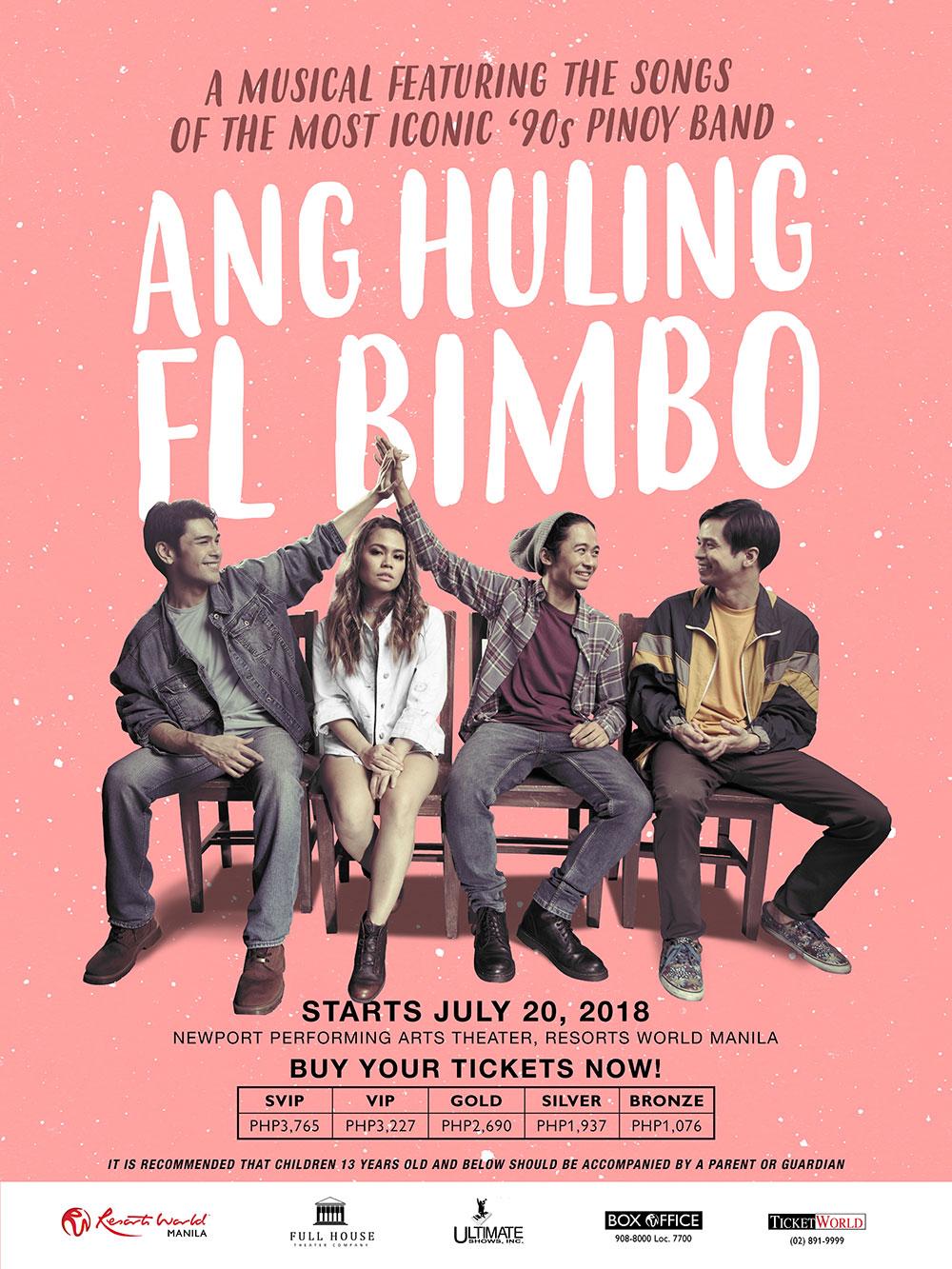 90s Hit 'Ang Huling El Bimbo' Now a Musical (Jul-Aug 2018