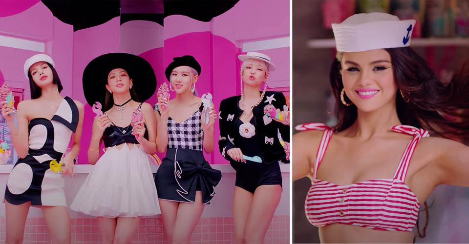 Blackpink Selena Gomez Ice Cream Music Video